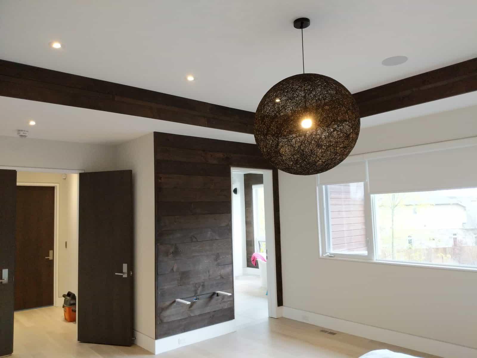 Ceiling clad